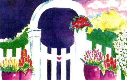 Garden Heart Gate