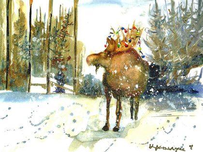 Merry Moose