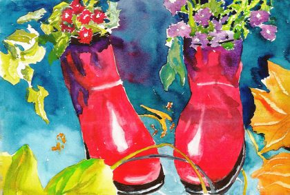 Red Galoshes