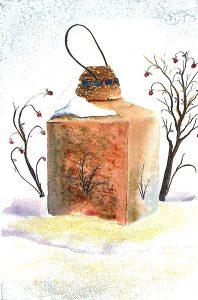 A Winter Lantern