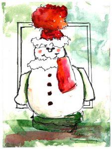A Jolly Snowman